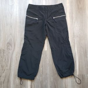 Xhilaration Adjustable Cinch Ankle Capri Pants